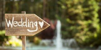 trouwen in de buitenlucht