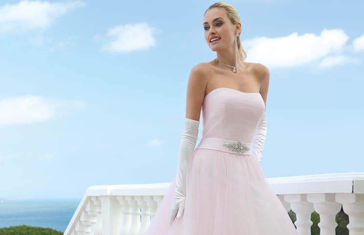 Roze Trouwjurk Kopen.Roze Trouwjurk Archieven In White