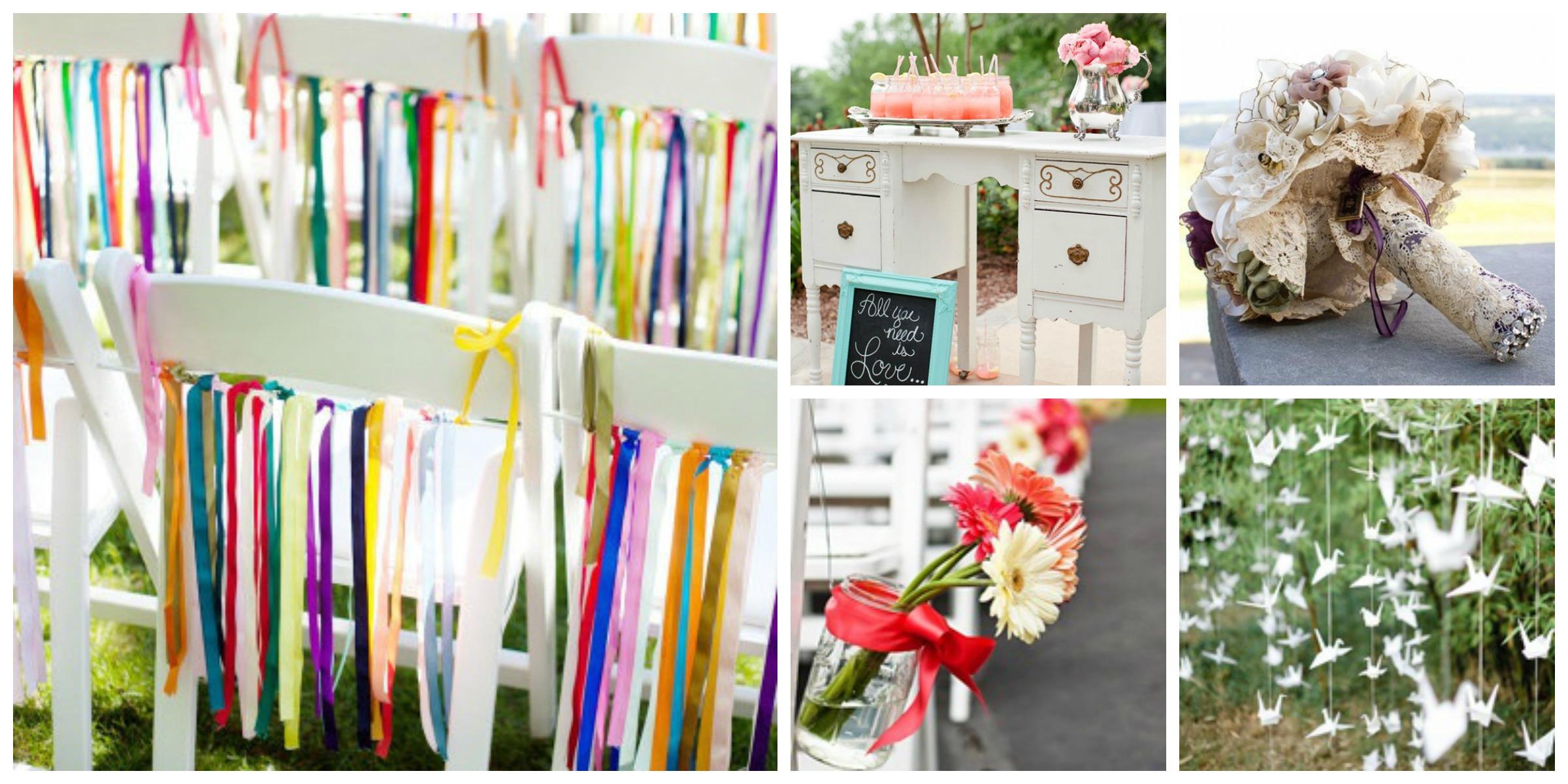 kleine bruiloft ideeen
