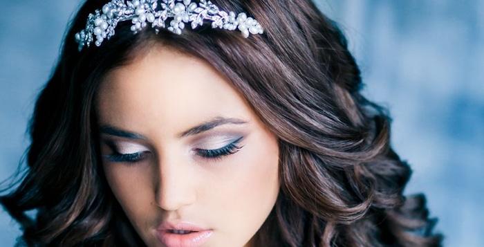 Bruidskapsels met los haar