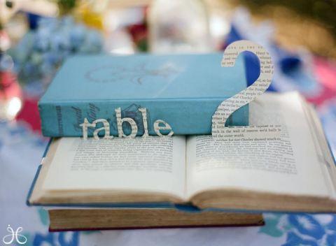 bruiloft voor de boekenwurm