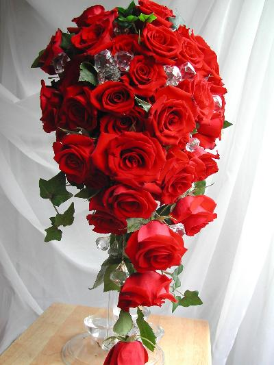 clessy-Red-Wedding-Bouquets