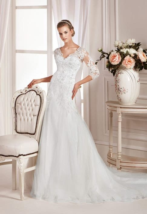 shannon front low affezione wedding dresses