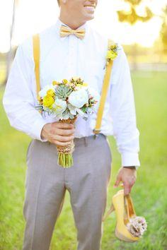 yellow groom