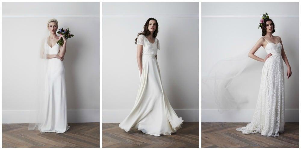 Vintage en bohemien bruid