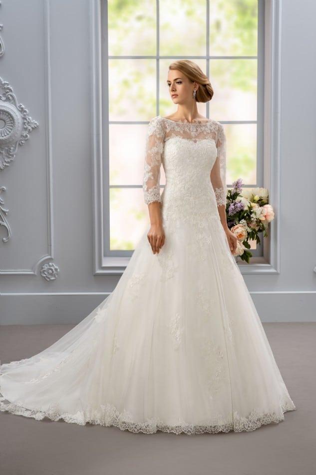 Extreem 20 prachtige trouwjurken met lange mouwen HA11