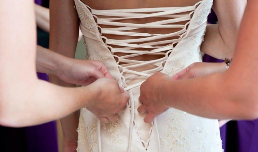 doorpassen trouwjurk