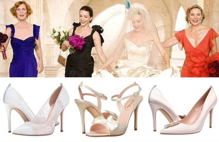 sarah jessica parker trouwschoenen