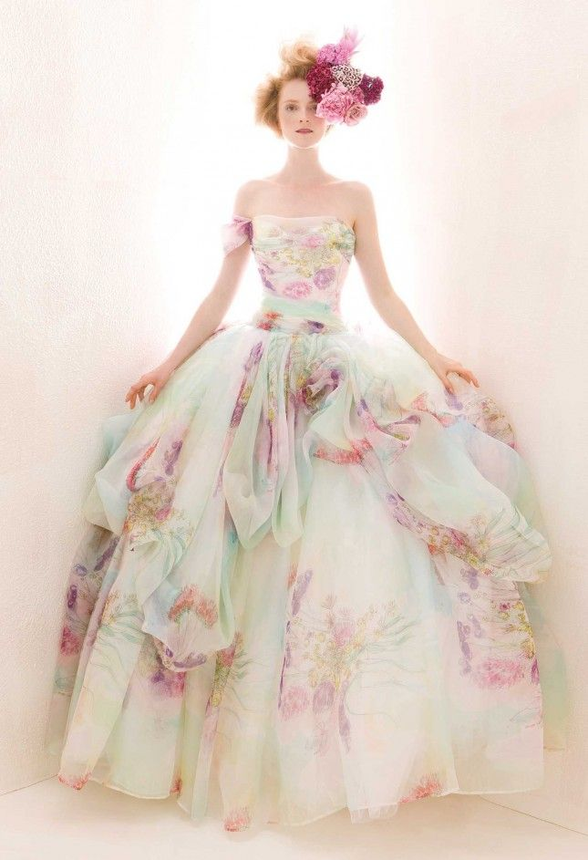watercolored gown 2