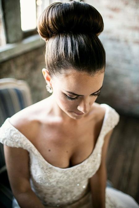 bruidskapsels opgestoken