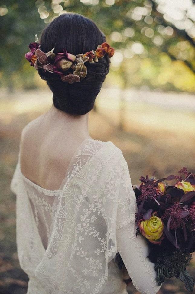 bohemian bruidskapsels