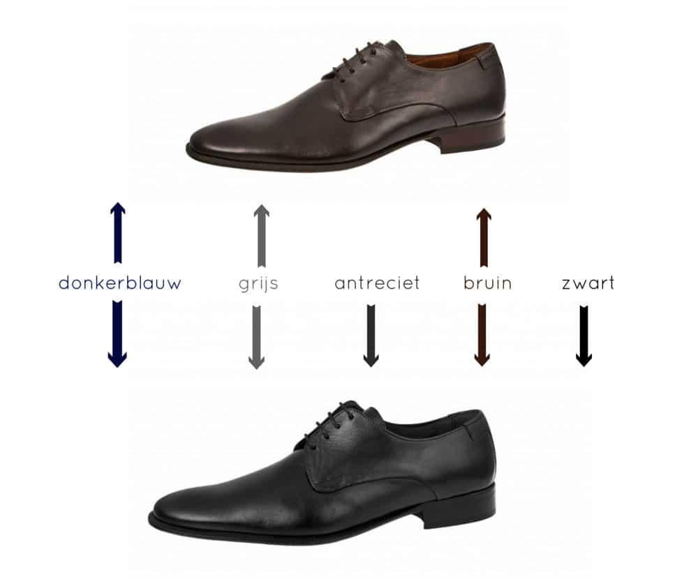 trouwpak en schoen