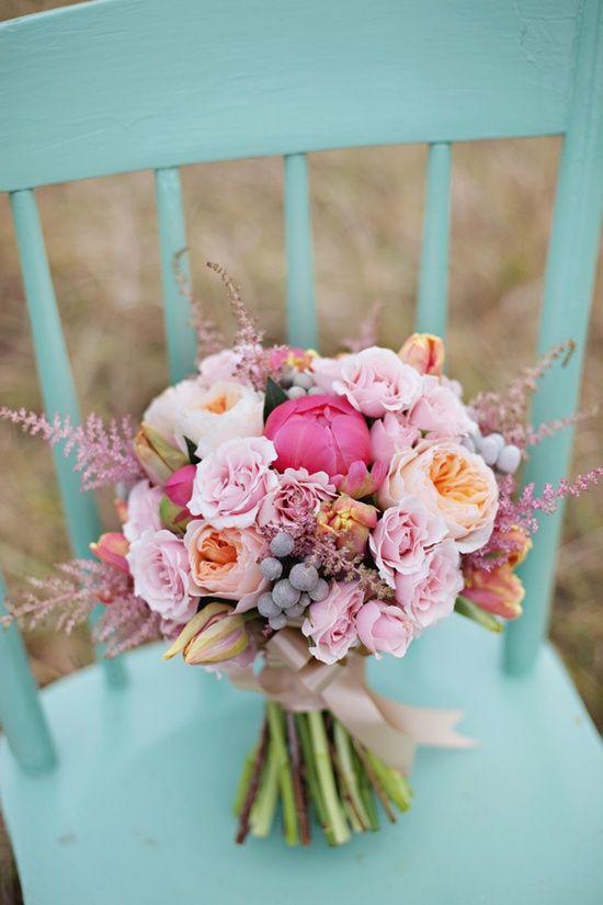 pastel bruiloft inspiratie