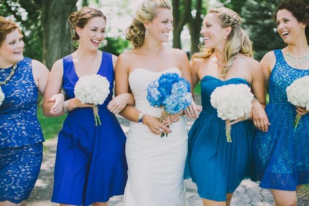korte jurkjes bruidsmeisjes