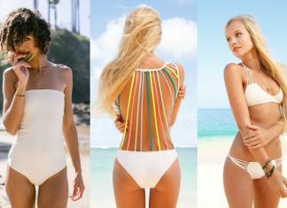 witte bikini's