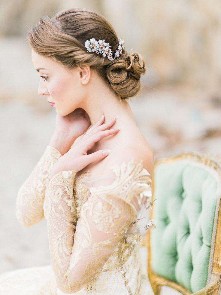 klassiek bruidskapsel
