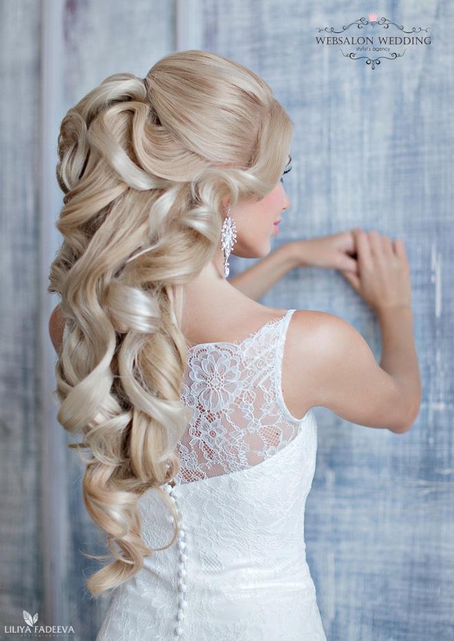 extravagant bruidskapsel