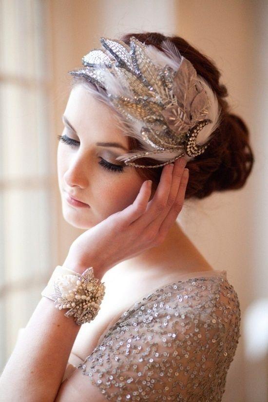 vintage bruidskapsels