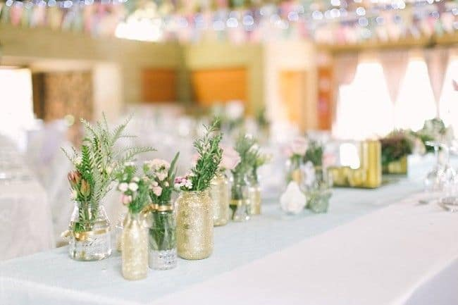 glitterende jars