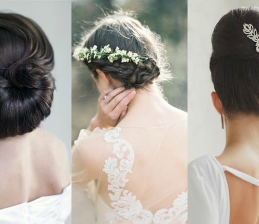 vintage geïnspireerde bruidskapsels