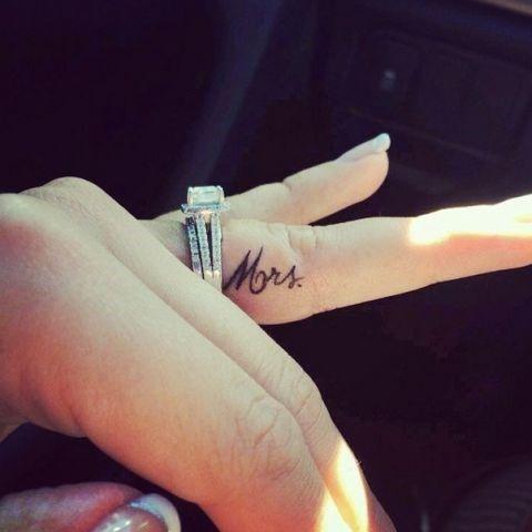 wedding tatoeage