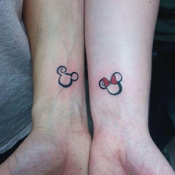 bruiloft tatoeage