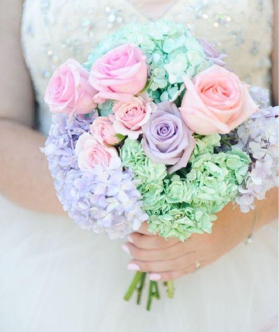 pastel trouwthema