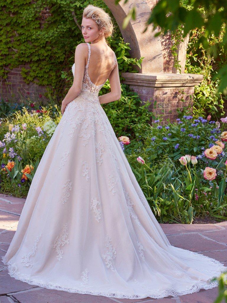 Rebecca Ingram trouwjurk