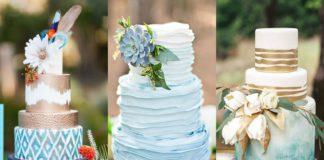 bohemian trouwtaarten