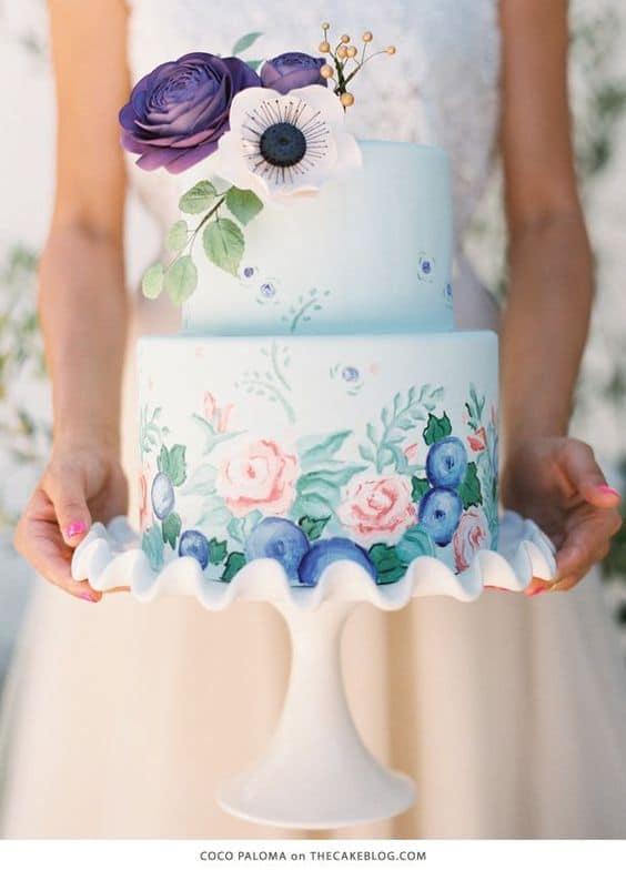 bohemian trouwtaart