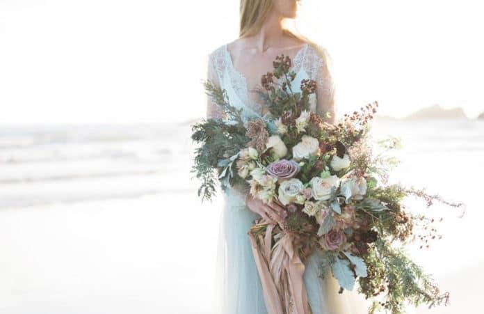 cascade bruidsboeketten