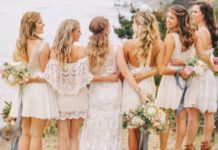 bridesmaids trends voor 2018