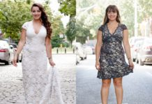 je trouwjurk na de bruiloft