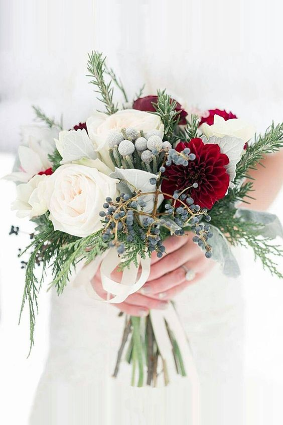 winter bruidsboeket 22