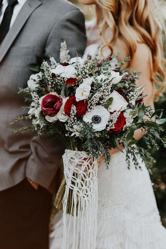 winter bruidsboeket 23