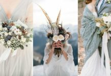 winter bruidsboeketten