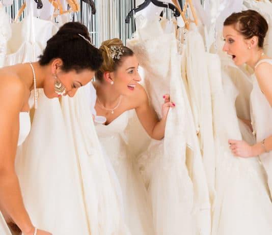 tips voor trouwjurken shoppen