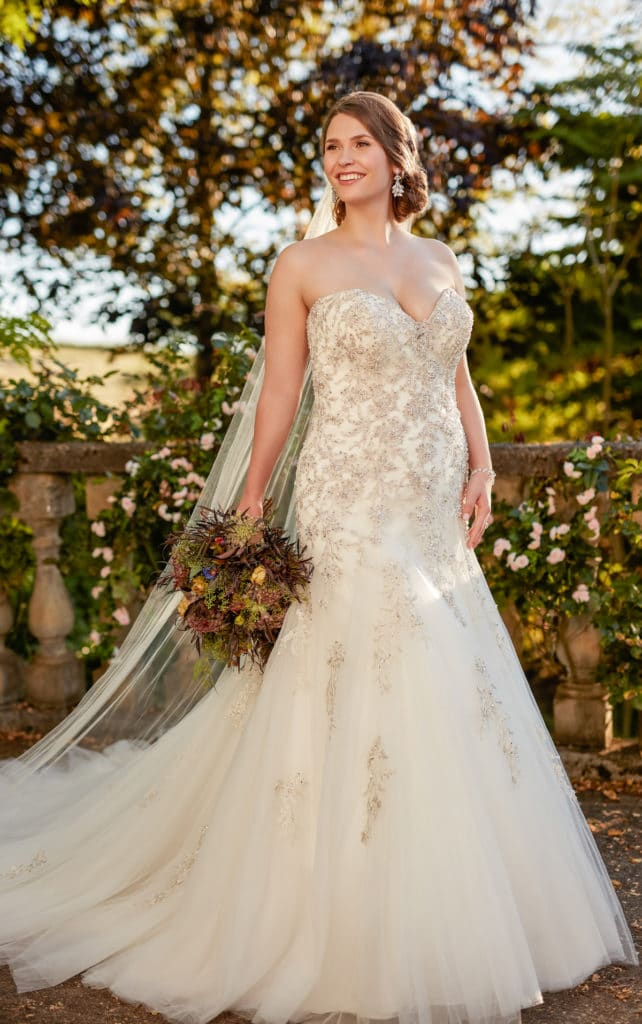 trouwjurken volslanke bruid