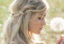 half opgestoken bruidskapsels
