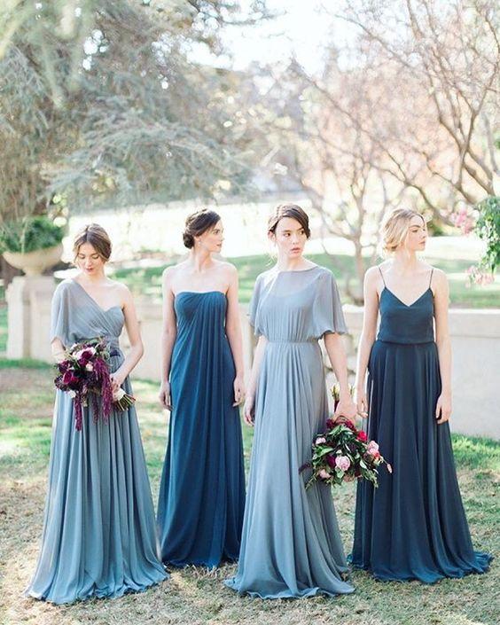 bruidsmeisjes trends