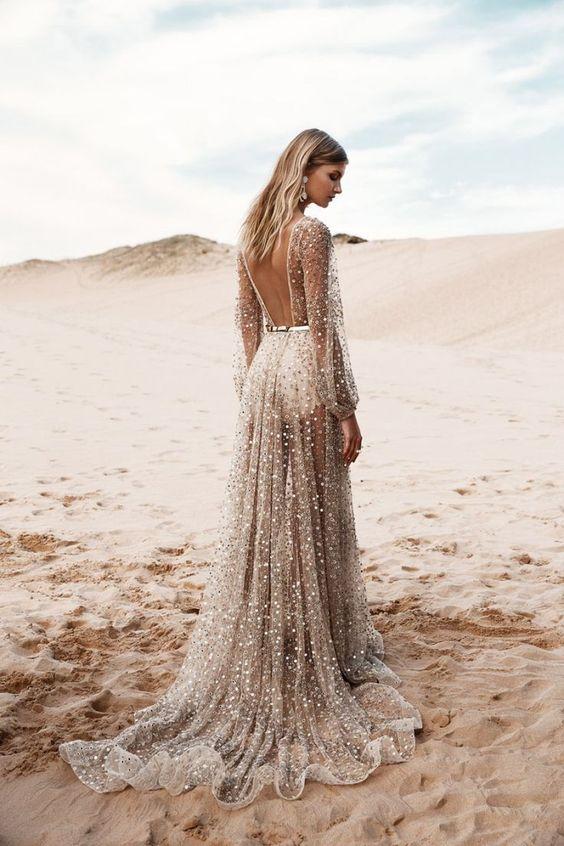 mooiste trouwjurken van Pinterest
