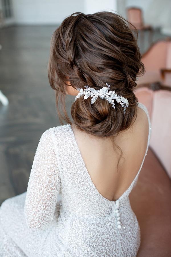 bruidskapsels met haaraccessoires 2
