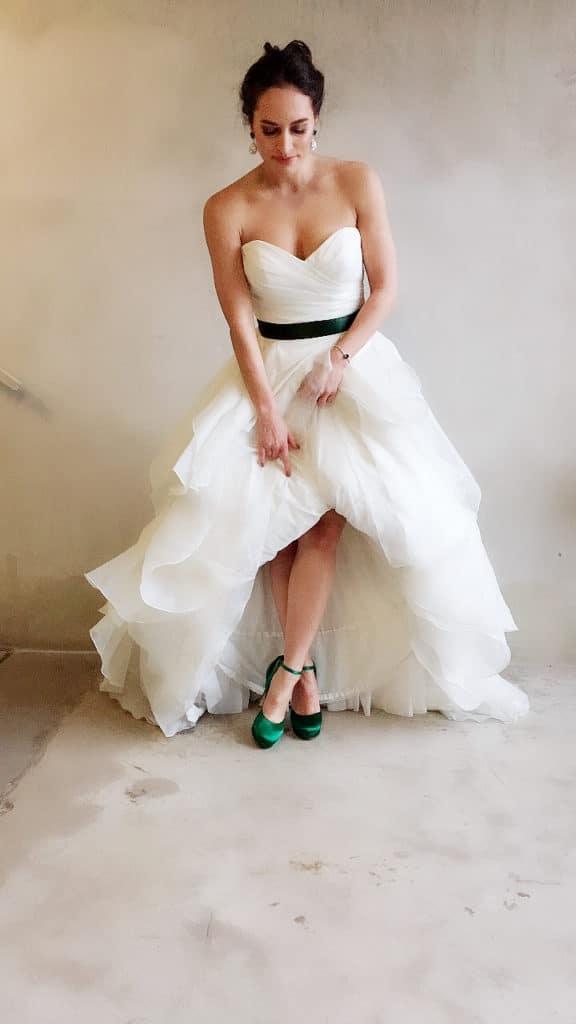 styling tips voor je trouwjurk 4