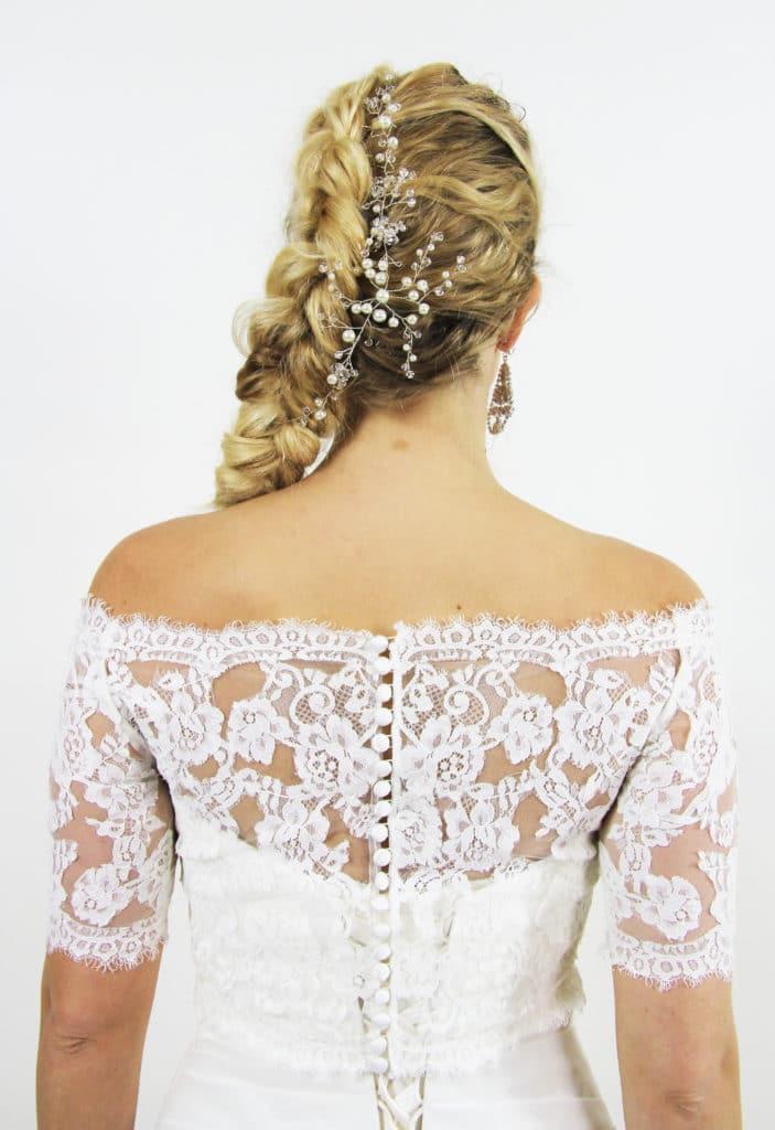 styling tips voor je trouwjurk 3
