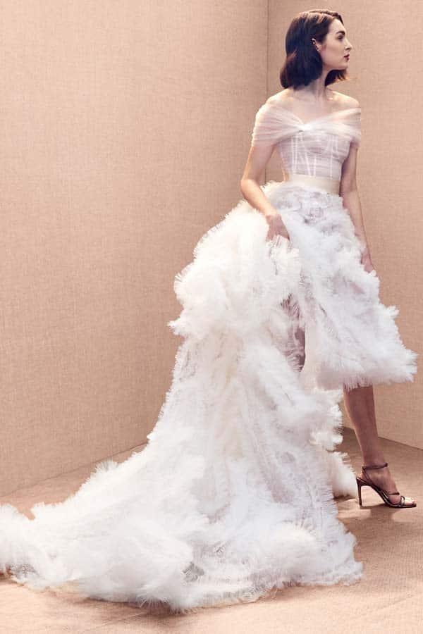 bruidsmodetrends voor 2020 Oscar de la Renta