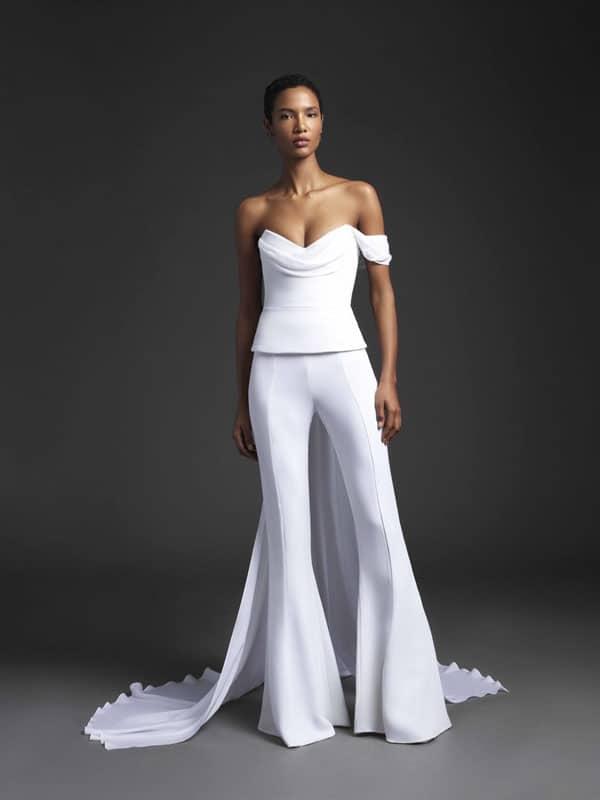 bruidsmodetrends voor 2020 pants