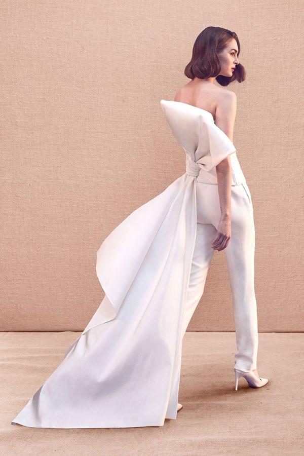 bruidsmodetrends voor 2020 bridal pants