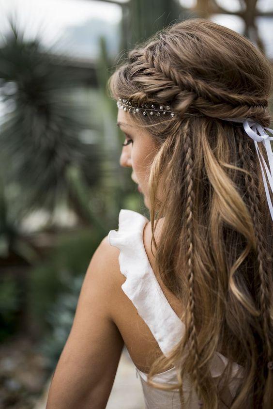 bohemian bruidskapsels 3