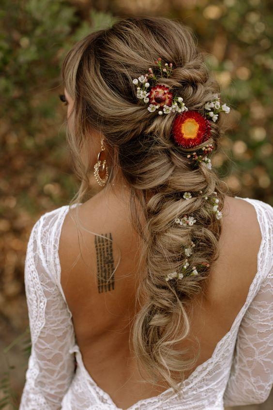 bohemian bruidskapsels 6