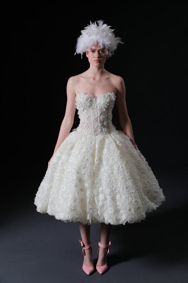 Korte trouwjurk Isabelle Armstrong